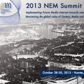 2013 NEM Summit @ Nantes